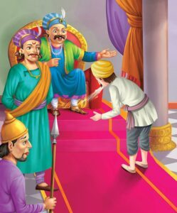 Birbal-helps-the-gardener wtf detective short stories for kids