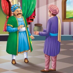 The-pot-of-wit wtf detective akbar and birbal funny moral stories