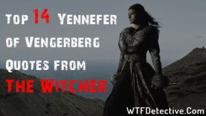 Top 14 Yennefer of Vengerberg Quotes from The Witcher season 2 2021 wtf detective